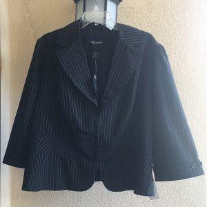 Lane Bryant pinstripe blazer